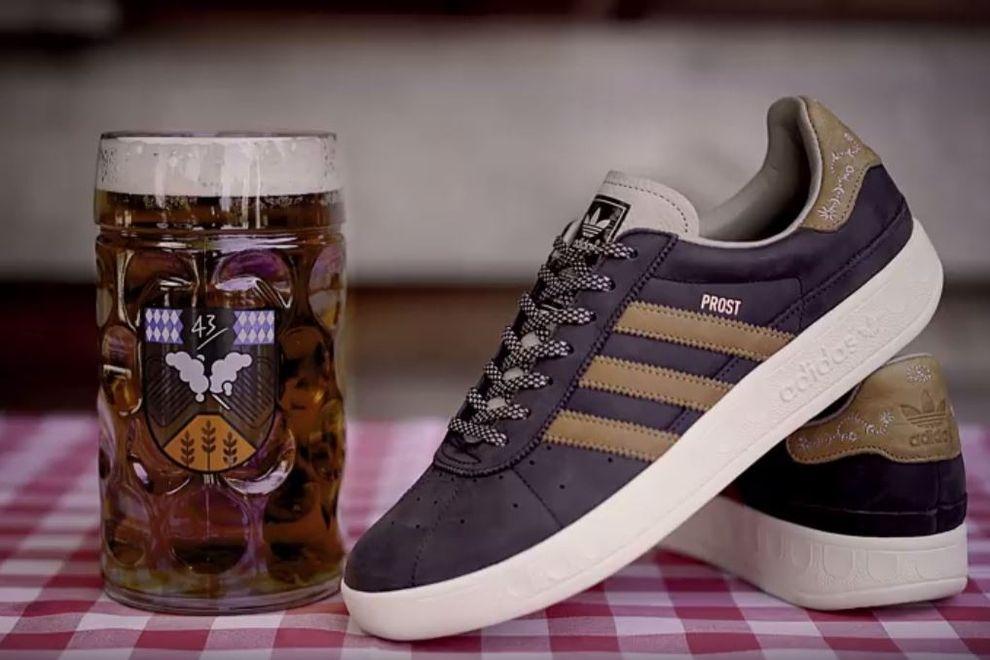 Es gibt jetzt Kotze- und Bier-abweisende Sneakers von Adidas