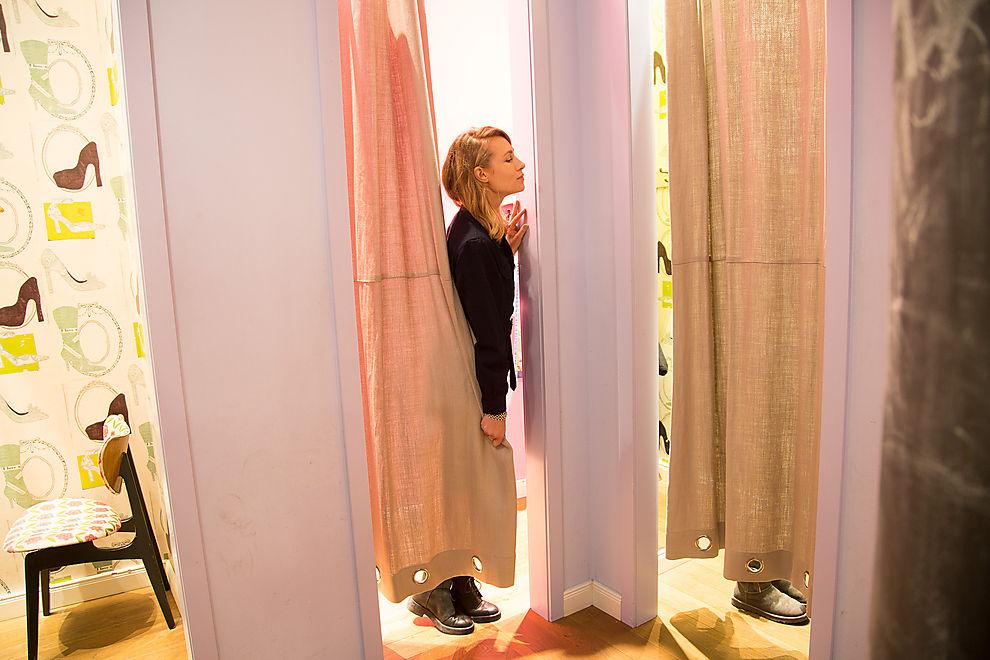 miss-Modechefin im Einsatz als Shoppingberaterin