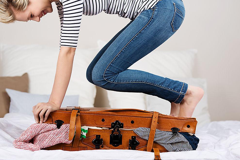 Ich packe in meinen Koffer…