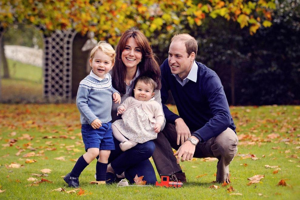 So herzig ist das neue Familienfoto von Kate und William