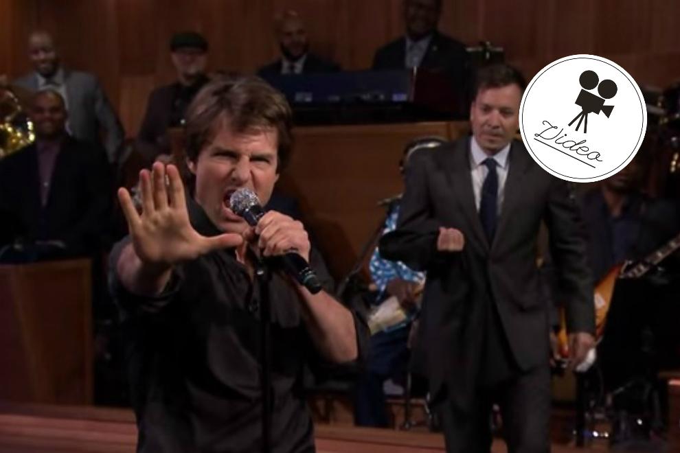 Tom Cruise macht sich für Jimmy Fallon zum Affen