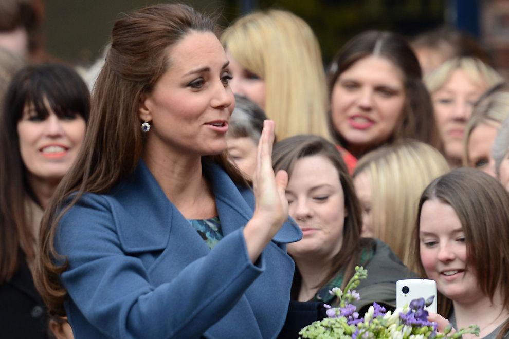 Kate Middleton hat graue Haare, na und?