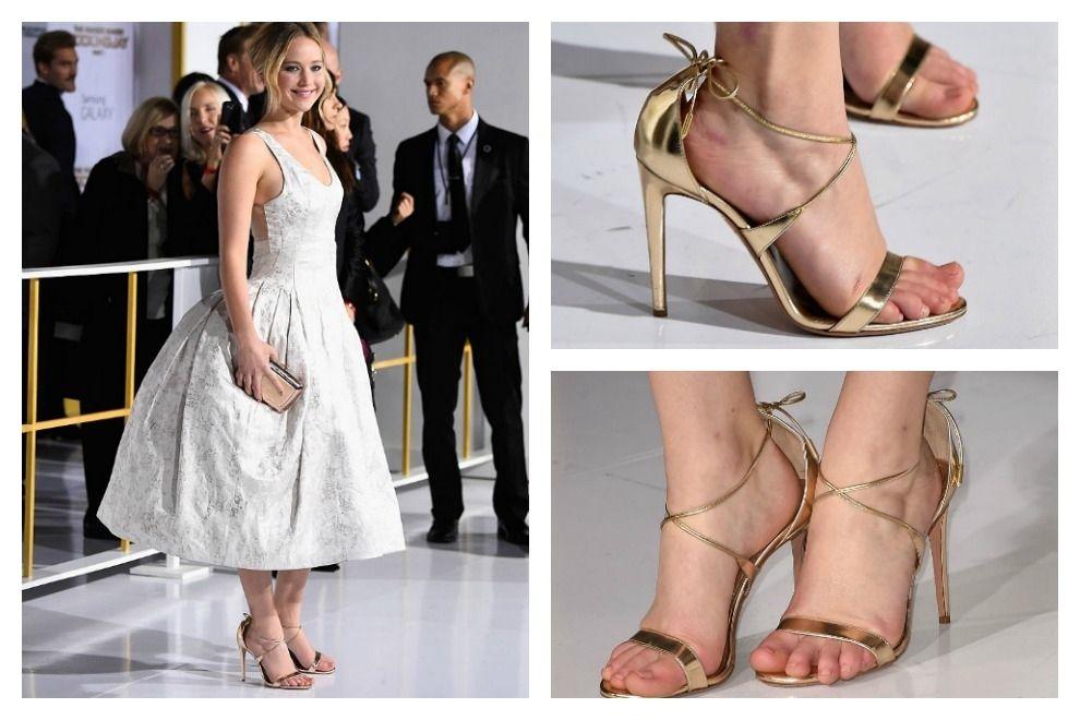 Deshalb tragen die Stars am roten Teppich oft zu große Schuhe