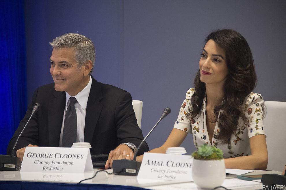 Clooneys spenden 1 Million Dollar für Kampf gegen Rassismus