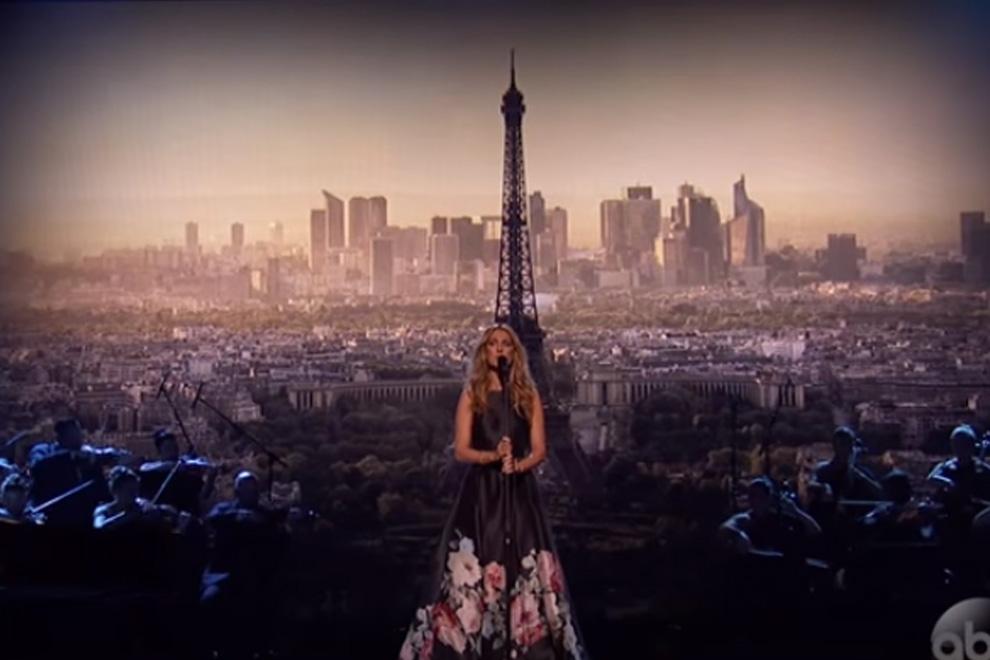 Céline Dion gedachte den Opfern der Pariser Terror-Anschläge