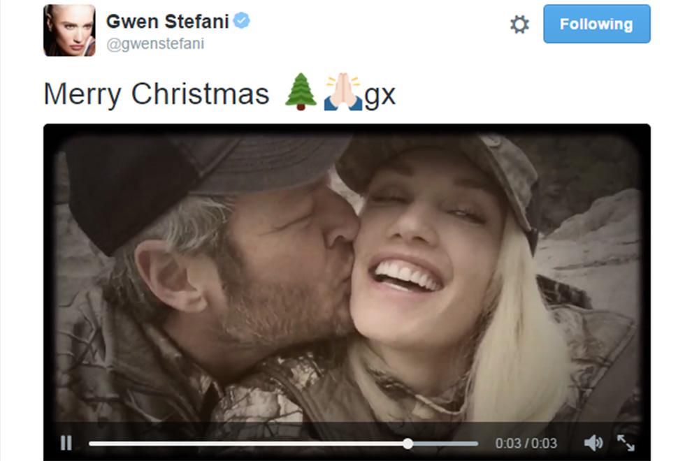 Gwen Stefani postet Kuss-Clip mit neuem Lover