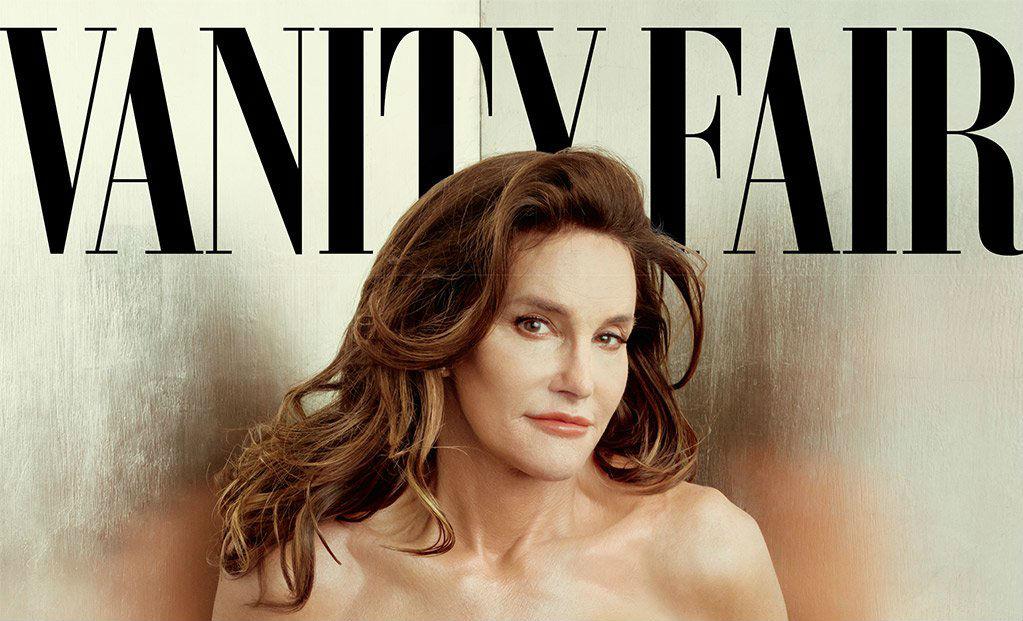 "Bruce Jenner als Caitlyn am Cover der ""Vanity Fair"""