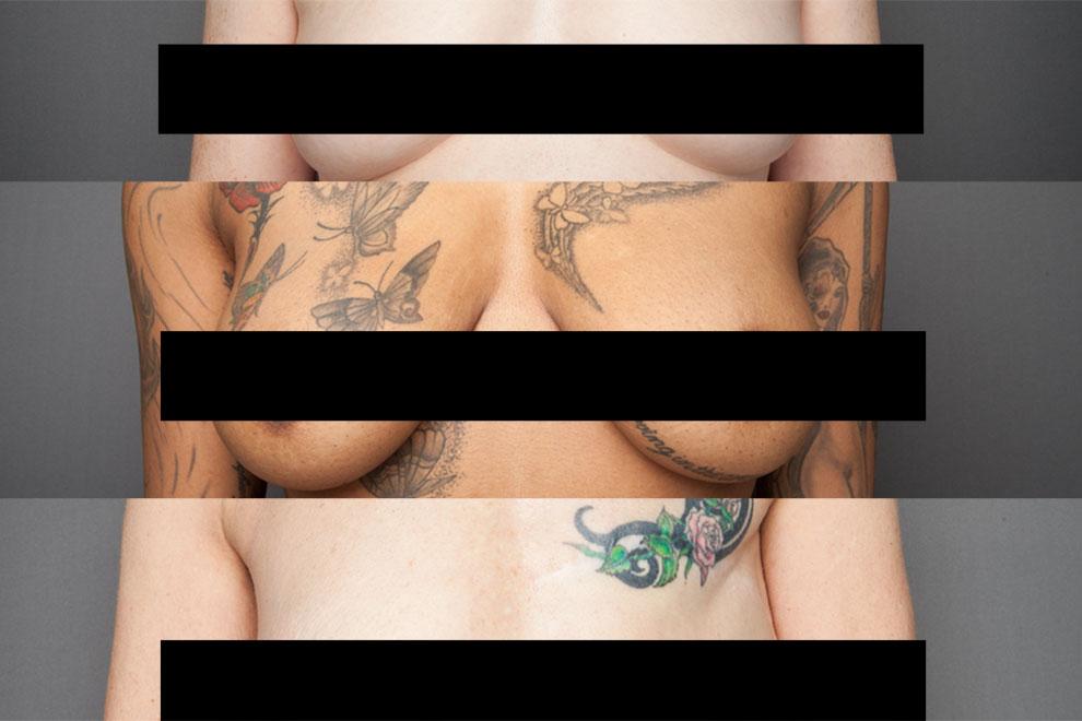 Fotoprojekt zeigt Brüste ohne Photoshop