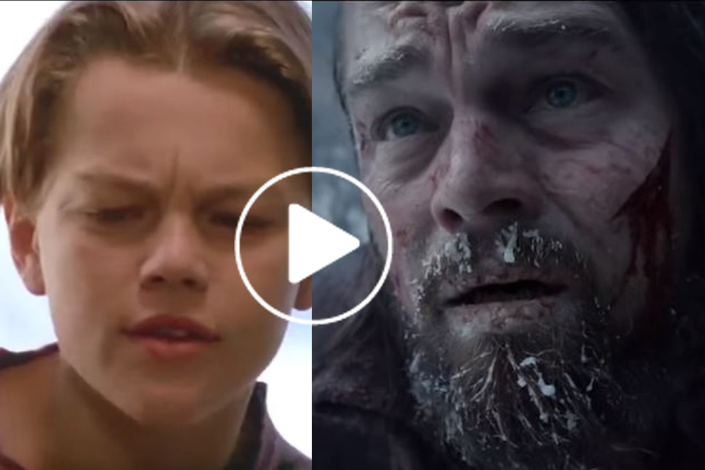 Das ist Leonardo DiCaprio in jeder einzelnen (!) seiner Rollen