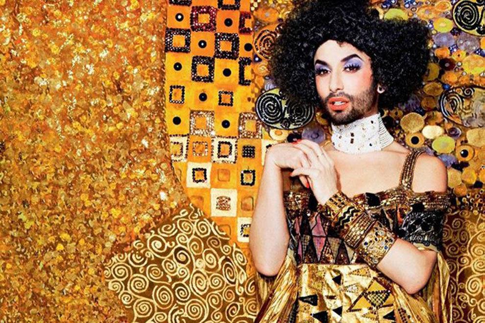 "Conchita Wurst ziert offizielles Poster als ""Goldene Adele"""