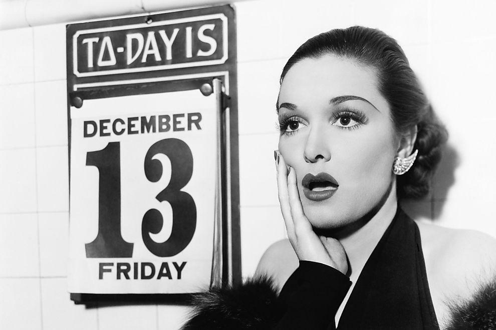 13 Dinge, die nur am Freitag den 13. passieren