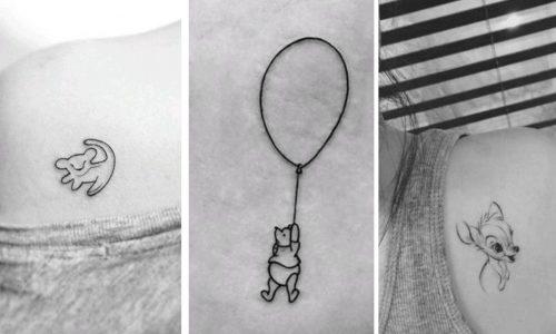 Die 10 schönsten Disney-Tattoos