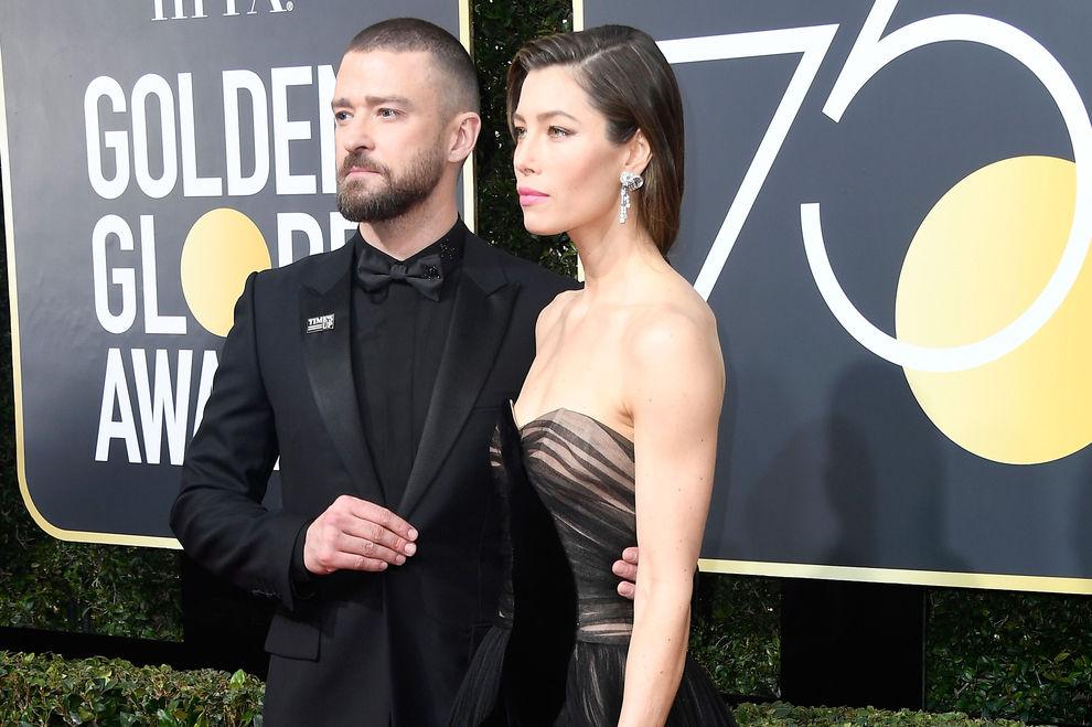 Warum bei den Golden Globes fast alle Schwarz trugen