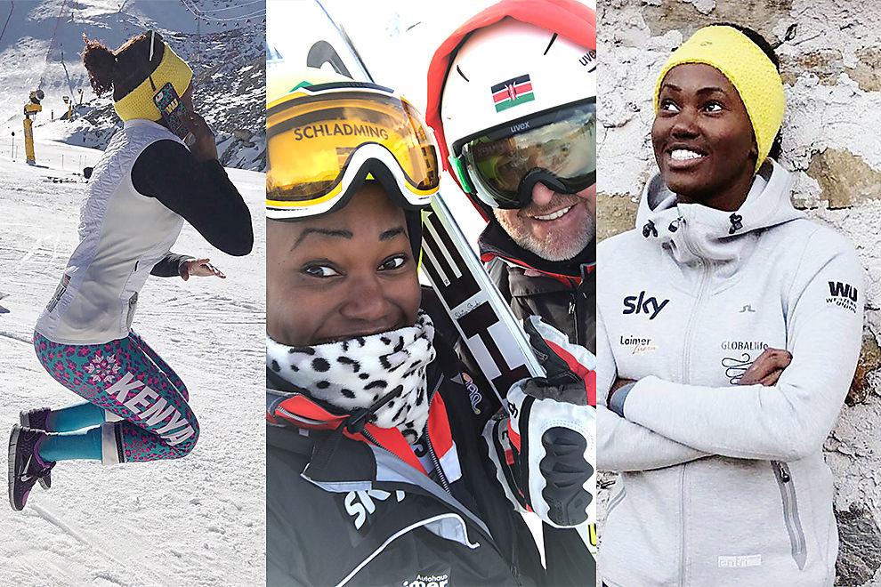 So bereitet sich die 19-jährige Kenianerin auf Olympia vor