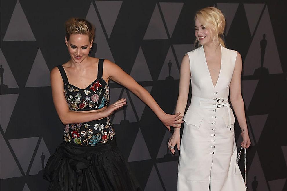 BFF-Date von Jennifer Lawrence und Emma Stone geplatzt
