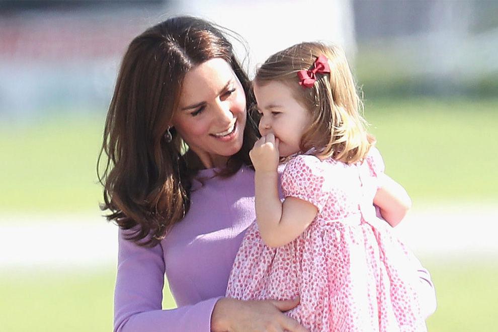 So süß war Prinzessin Charlotte an ihrem 1. Kita-Tag