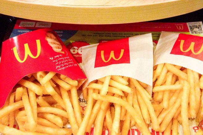 Mit diesem Trick kriegst du bei McDonald's immer zwei Portionen Pommes