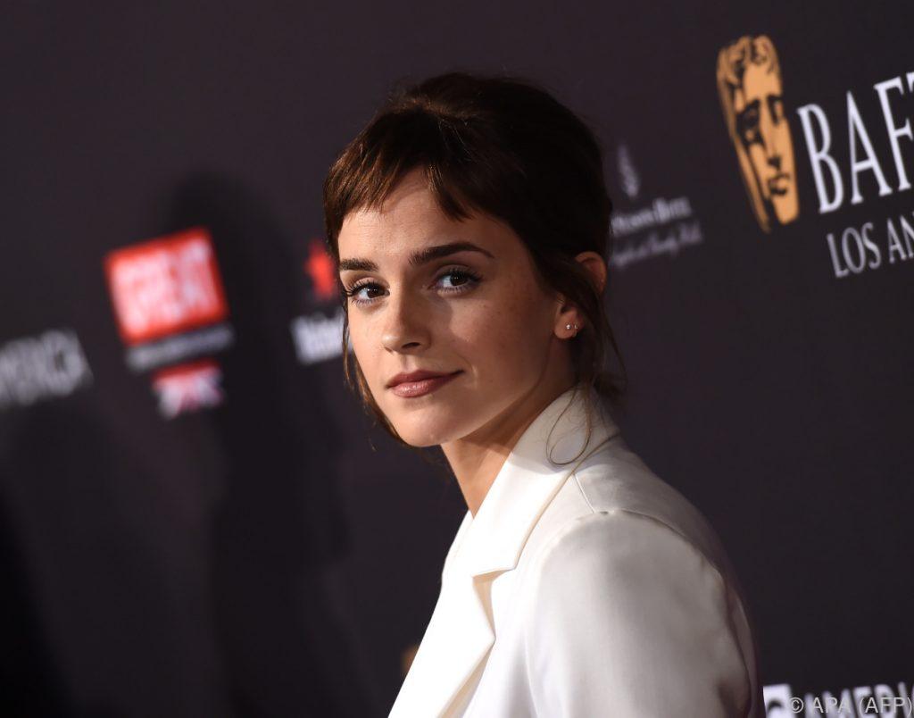 #metoo: Emma Watson und andere britische Schauspielerinnen protestieren