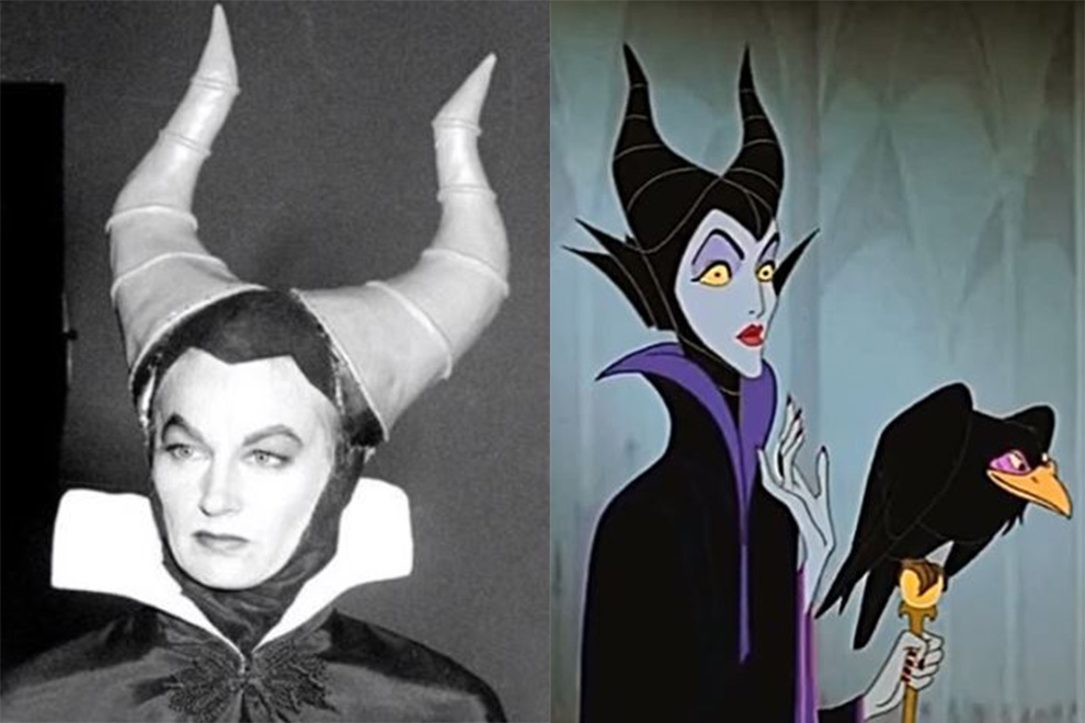 Wie die Stimmen der Disney-Bösewichte in Wirklichkeit aussehen