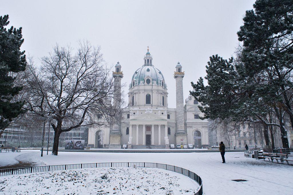Wetter in Wien: Zuerst Schnee, dann klirrende Kälte