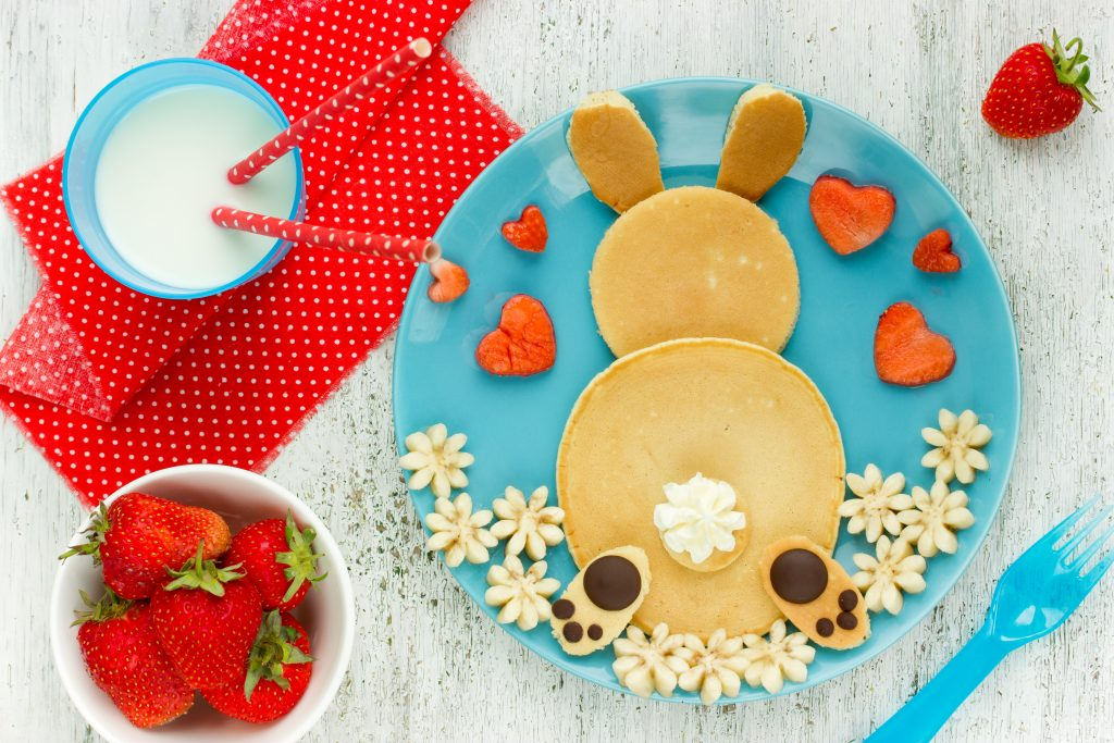 Oster CookBook: Bunny Pancake