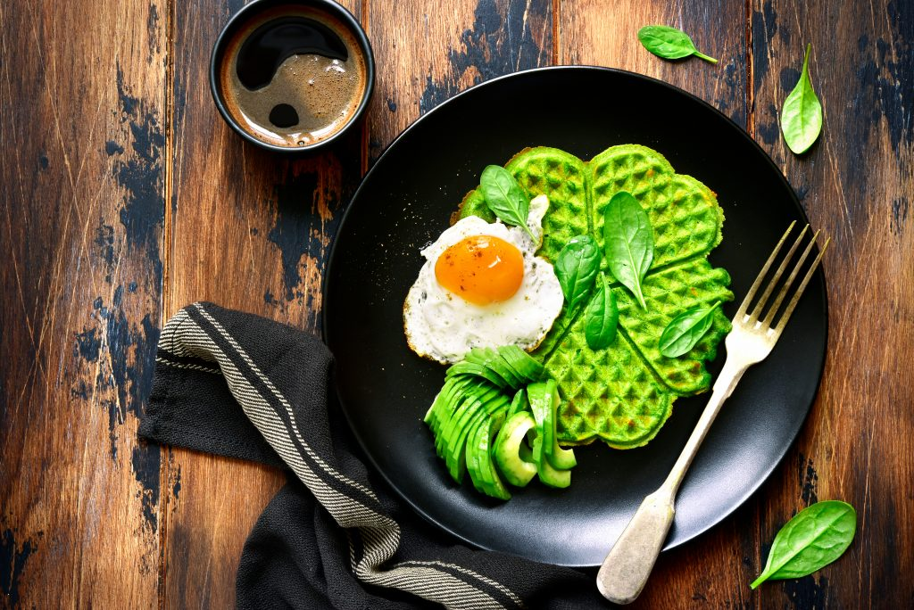 Oster CookBook: Avocado Speck Waffeln