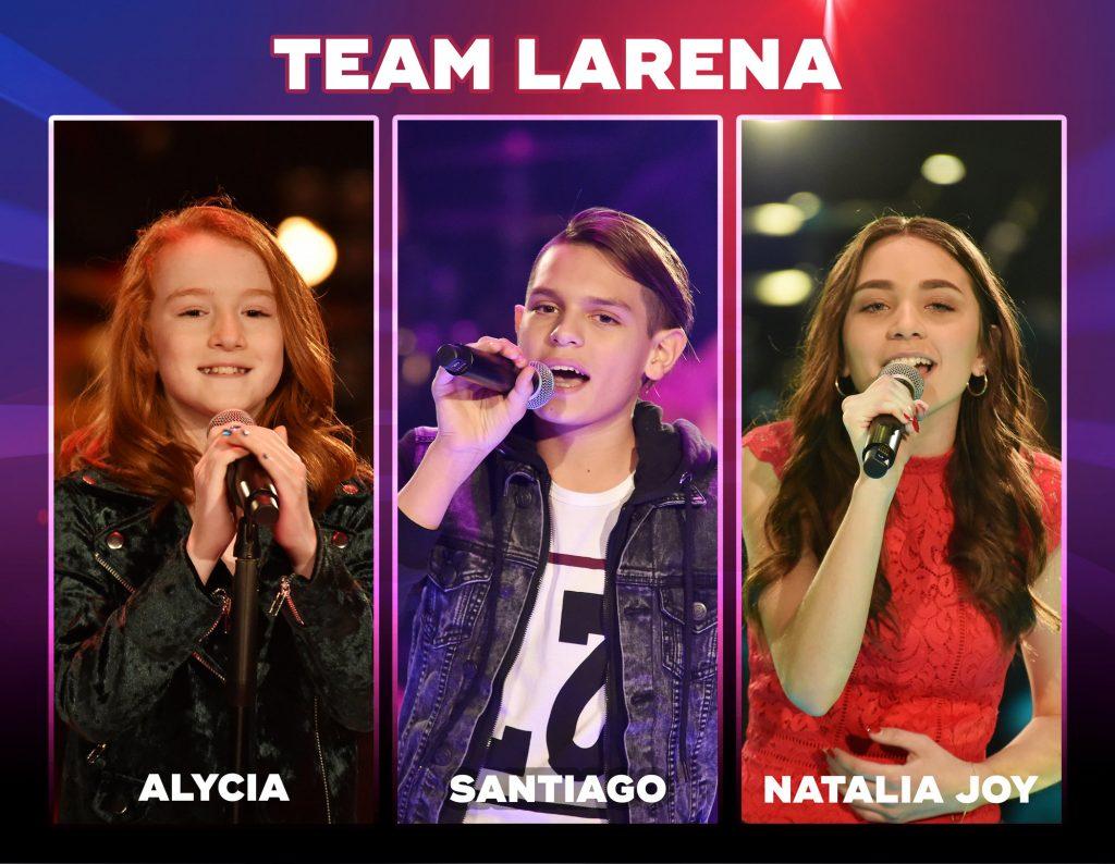 Team Larena: Alycia, Santiago und Natalia