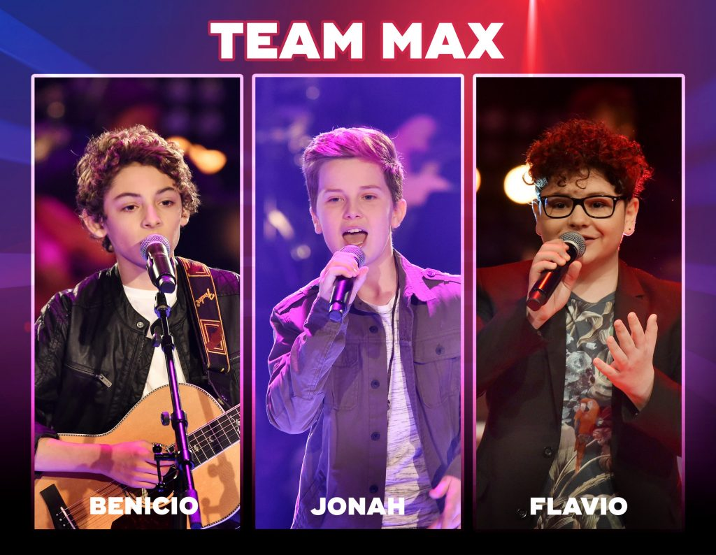 The Voice Kids 2018-Team Max: Wer sind Benicio, Jonah & Flavio?
