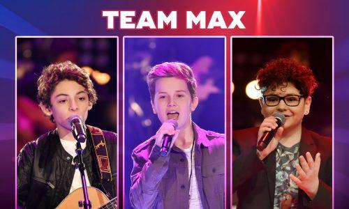 The Voice Kids 2018-Team Max: Wer sind Benicio, Jonah & Flavio?