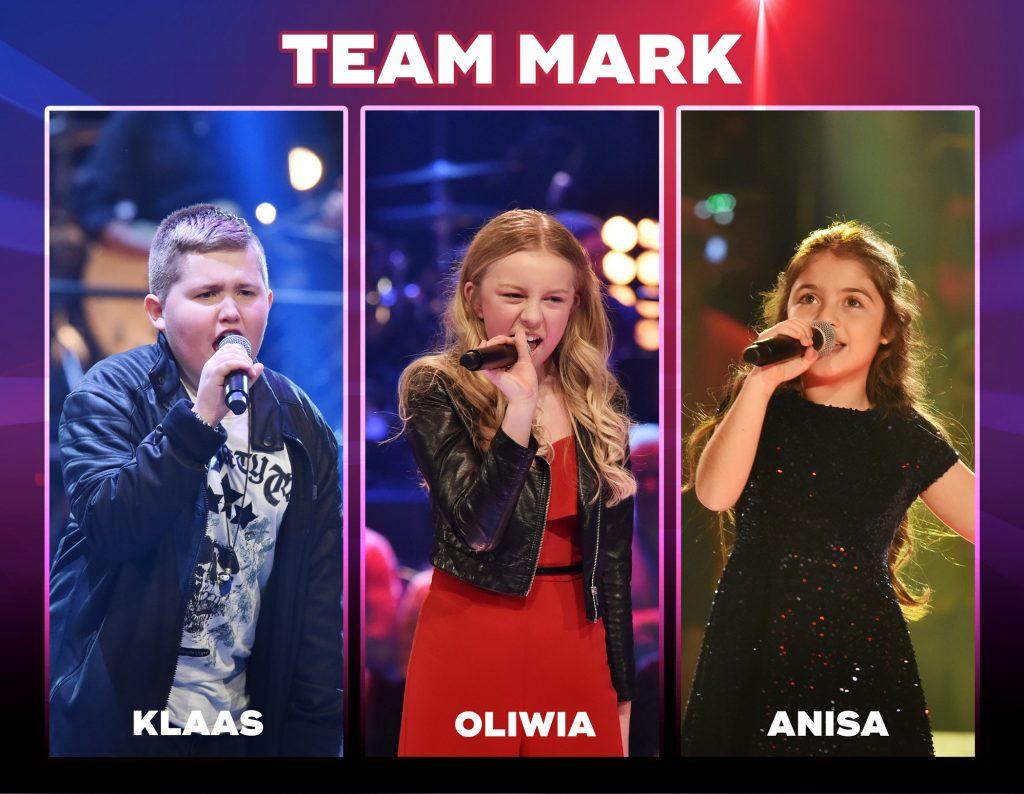 Team Mark: Klaas, Oliwia und Anisa