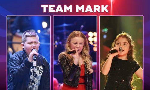 The Voice Kids 2018-Team Mark: Wer sind Anisa, Klaas & Oliwia?