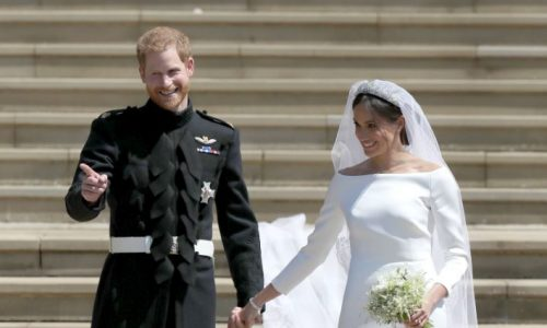 Meghan und Harry: So wunderschön sind die offiziellen Hochzeitsfotos