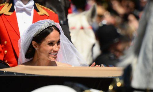 Meghan Markle: So traumhaft schön war ihr zweites Hochzeitskleid