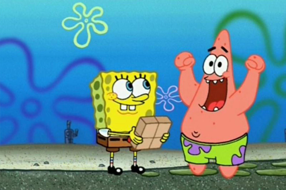 Gruselig: So würden Spongebob und Patrick als Menschen aussehen