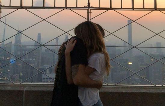 Heidi & Tom teilen irre Fotos von der Nacht am Empire State Building in NYC