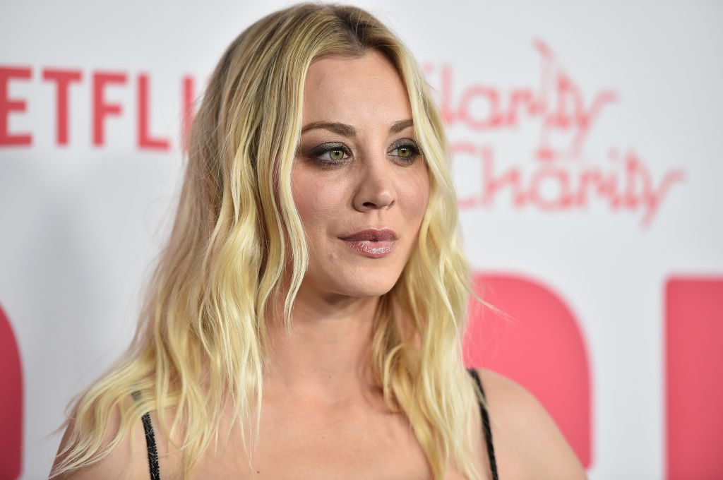 ''The Big Bang Theorie''-Star: Kaley Cuoco hat