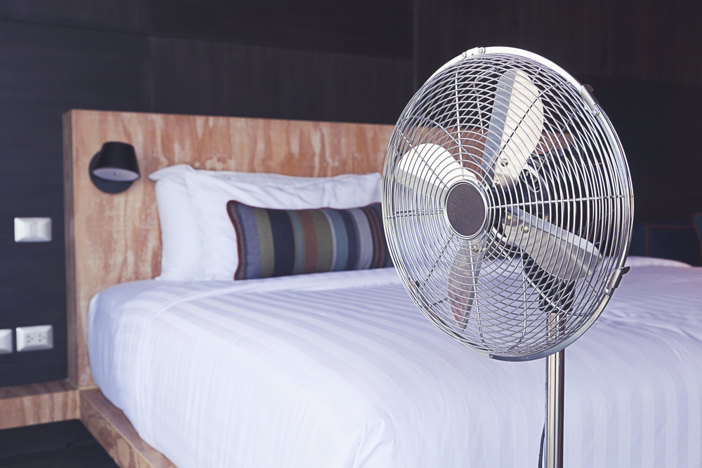 Ventilatoren im Schlafzimmer sind gefährlich