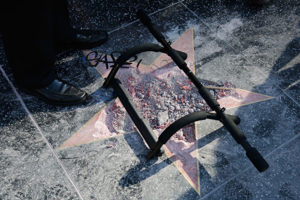 Donald Trump: Hollywood-Stern am Walk of Fame soll weg