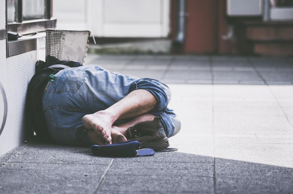 Hitze kann für Obdachlose gefährlich werden