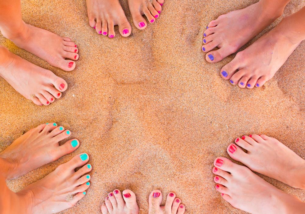 Pediküre selbst gemacht: So bringst du deine Füße selbst und Last Minute zum Strahlen