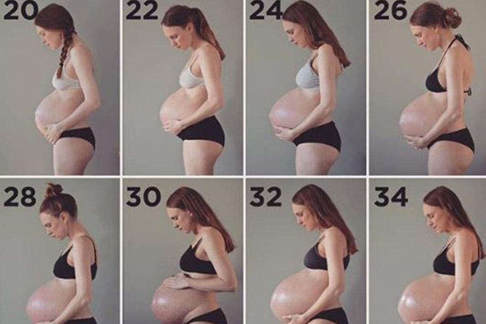 So sieht eine Drillingsschwangerschaft wirklich aus