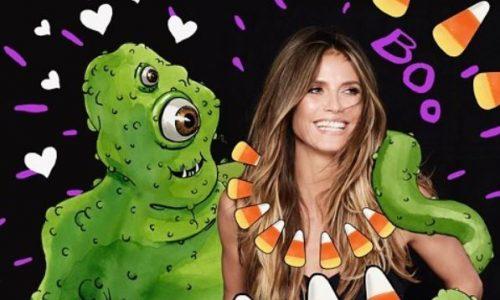 Heidi Klum verkauft Halloween-Kostüme auf Amazon