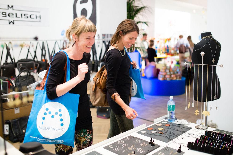 Der Modepalast hält Einzug in Wien