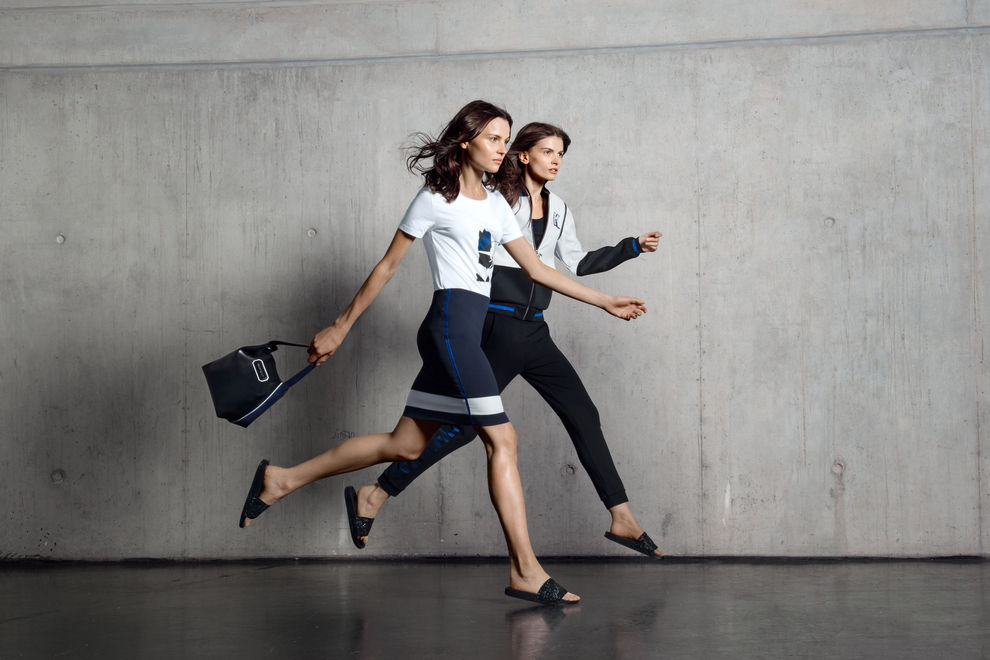 Karl Lagerfeld designt jetzt Jogginghosen