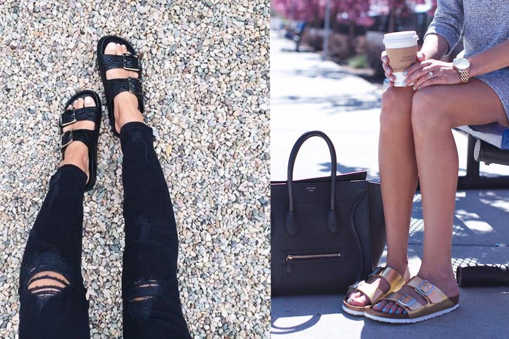 Birkenstocks erobern die Modewelt