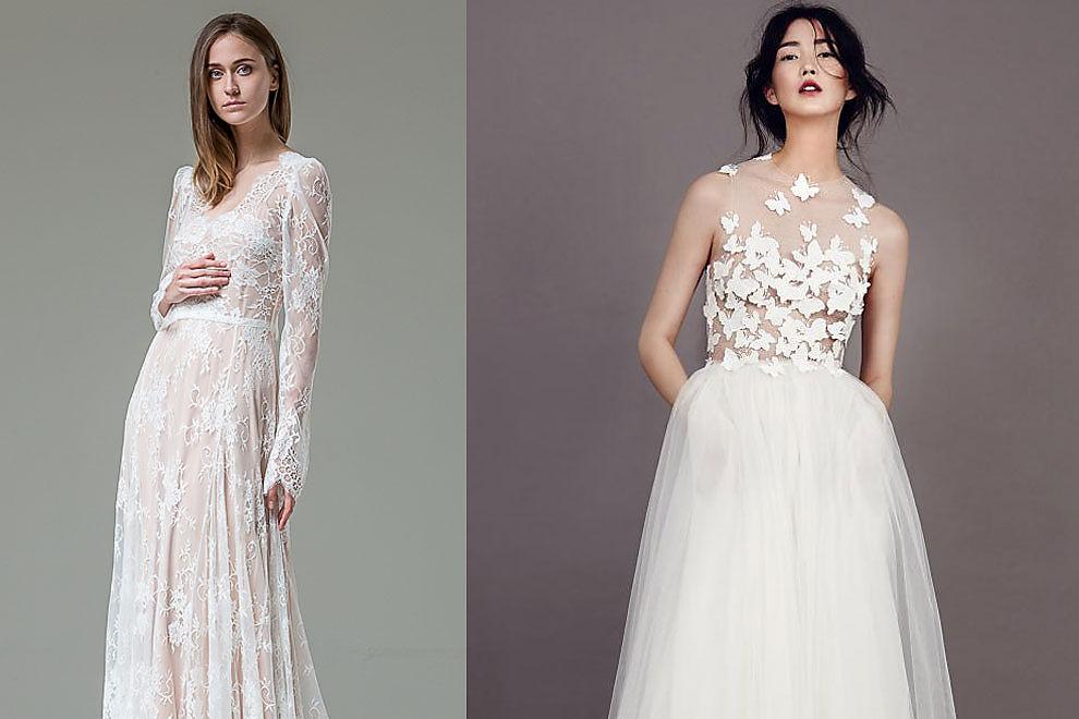 Die schönsten Brautkleider für 2015