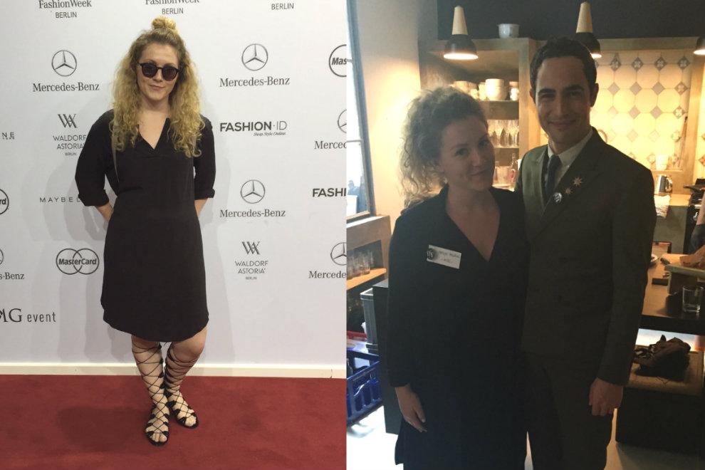 Nachhaltige Mode und ein Treffen mit Zac Posen