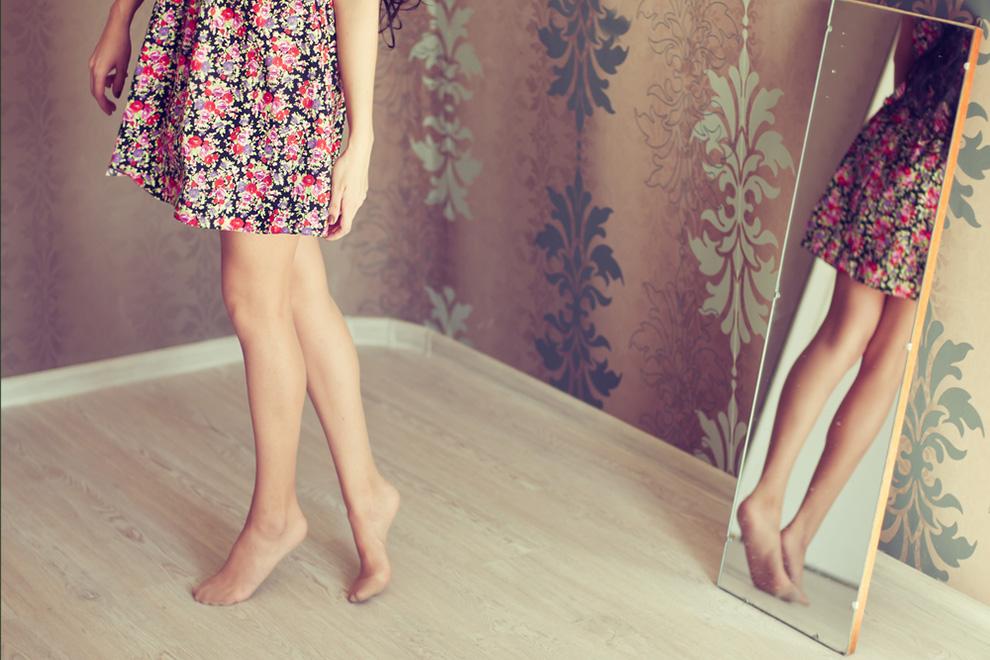 In drei Schritten zu glatten Beinen
