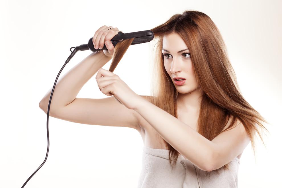 6 Fehler, die du womöglich mit deinem Glätteisen machst