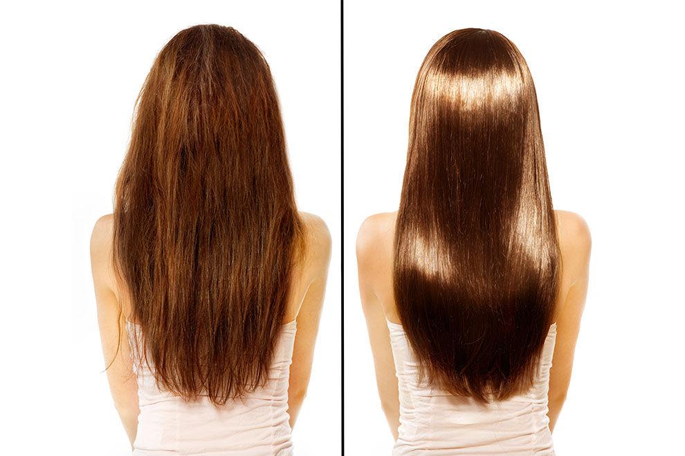 Dieser Fehler Schädigt Beim Glätten Die Haare So Gehts Richtig
